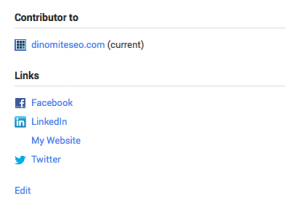 Google Plus Profile Contribution Link